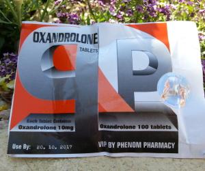 Phenom Oxandrolone Tablets Dosage Quantification Lab Results [PDF]