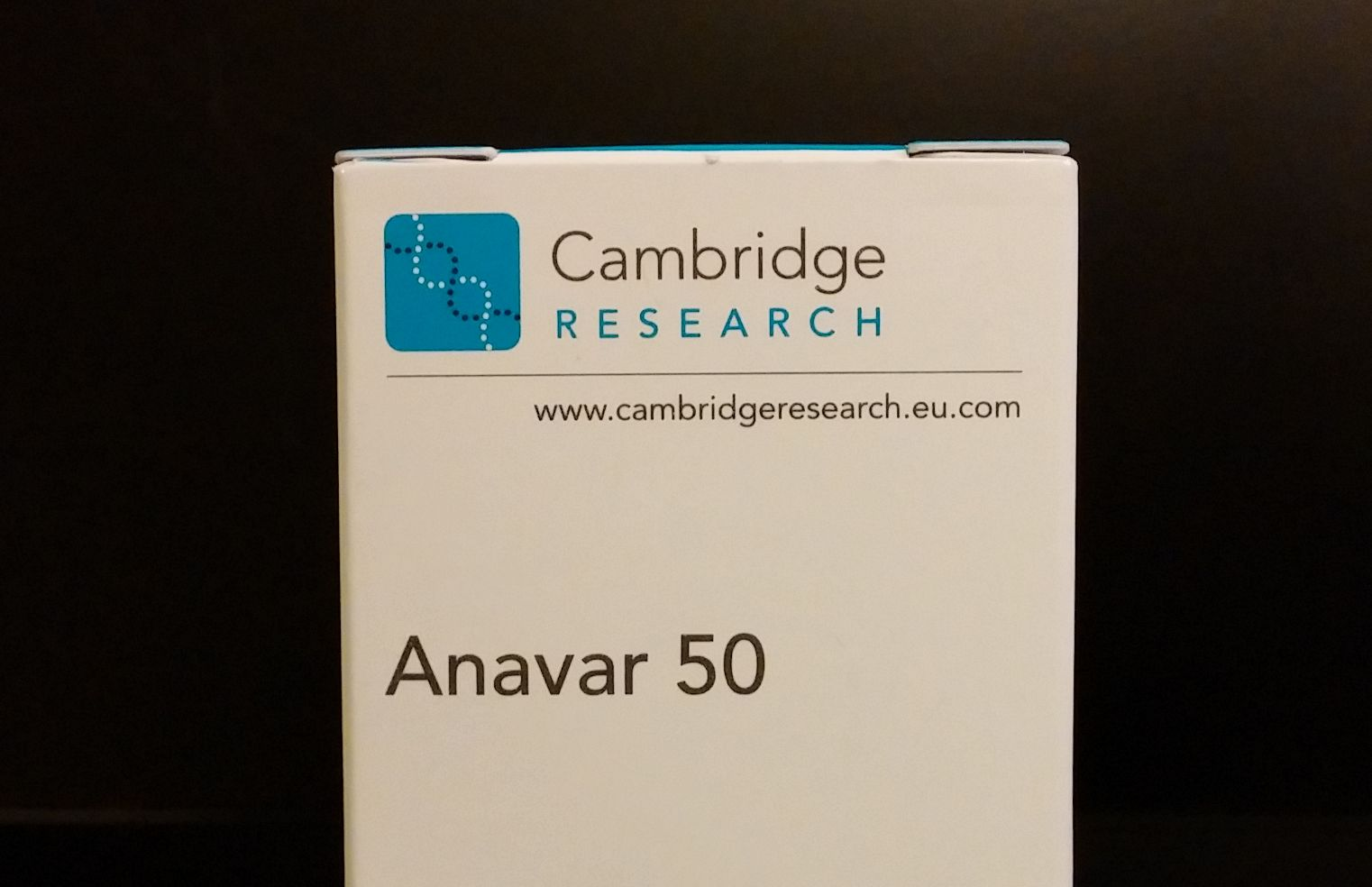 Actual content : Cambridge Research Anavar 50 was determined to have