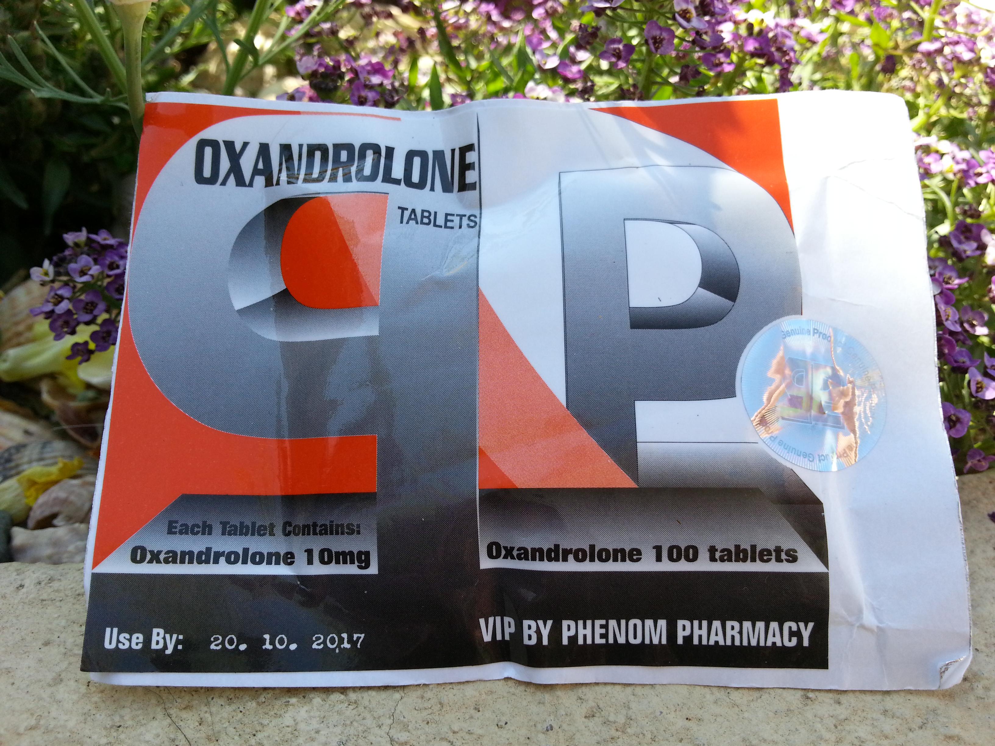 anavar test dosage