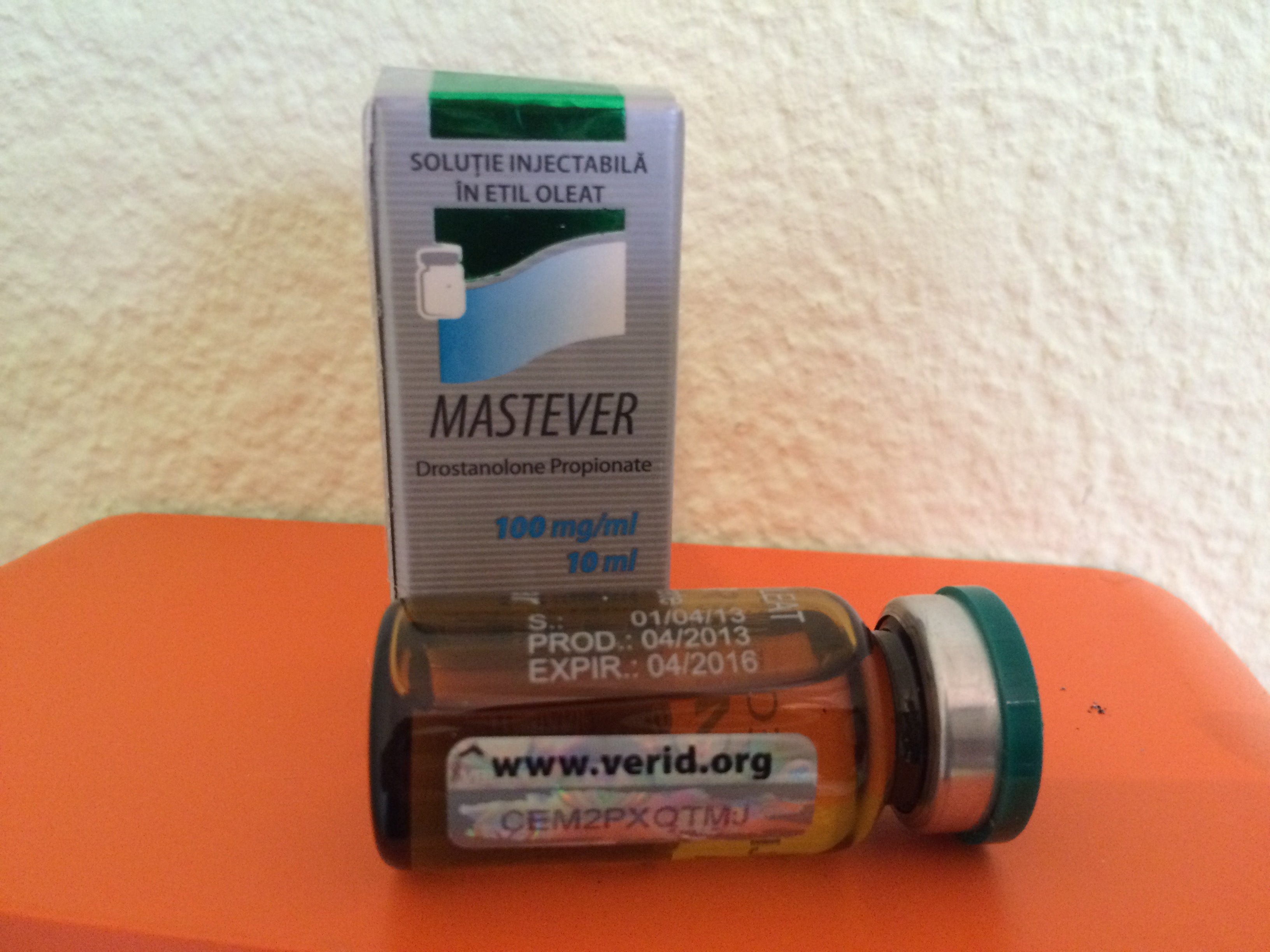 what is masteron 100 used for
