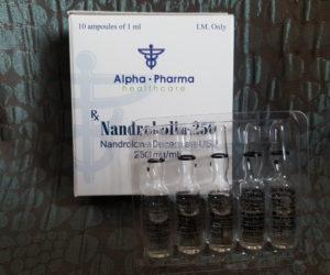 Alpha Pharma Nandrobolin-250 Ampules Dosage Quantification Lab Results [PDF]