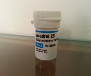 Biomex Labs Anadrol 25 Dosage Quantification Lab Results [PDF]
