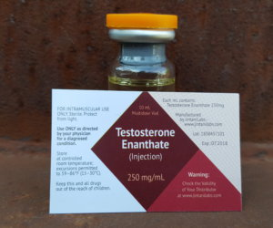 Jintani Labs Testosterone Enanthate Dosage Quantification Lab Results [PDF]