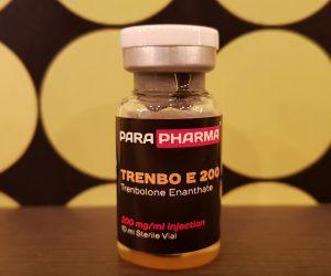 ParaPharma Trenbo E 200 Dosage Quantification Lab Results [PDF]