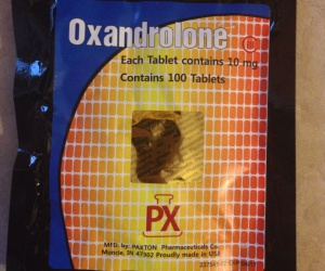 Paxton Pharmaceuticals Oxandrolone Dosage Quantification Lab Results [PDF]