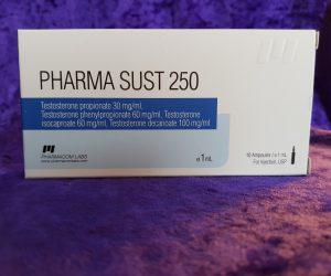 Pharmacom Labs PHARMA Sust 250 Dosage Quantification Lab Results [PDF]