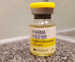 Pharmacom Labs PHARMA Bold 500 Dosage Quantification Lab Results [PDF]