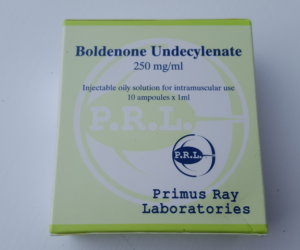 Primus Ray Labs Boldenone Undecylenate Dosage Quantification Lab Results [PDF]