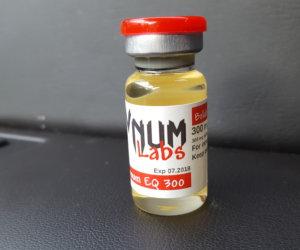 VNUM Labs Boldenum EQ 300 Dosage Quantification Lab Results [PDF]