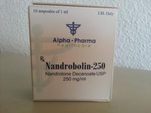 Alpha Pharma Nandrobolin 250 - box front