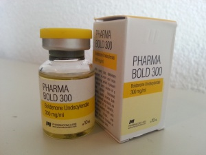 Pharmacom Labs PHARMA Bold 300 - box and vials