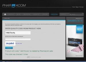 Pharmacom Labs PHARMA Test E300 (testosterone enanthate) - quality code verified
