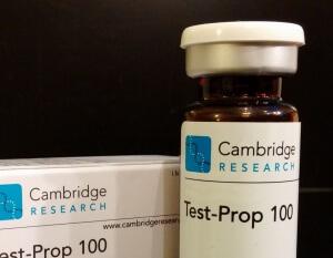 Cambridge Research Test-Prop 100 (testosterone propionate)