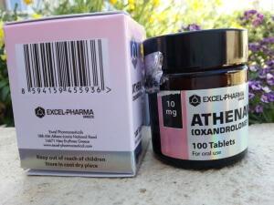 Excel Pharma Athenavar  - UPC code