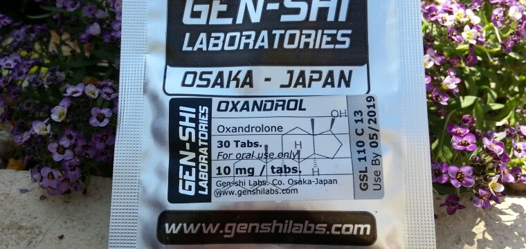 Gen-Shi Laboratories Oxandrol Lab Test Results