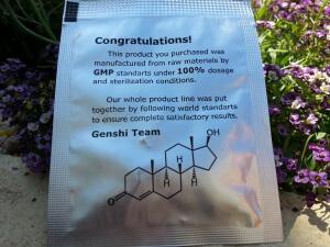 Gen-Shi Laboratories Oxandrol - reverse