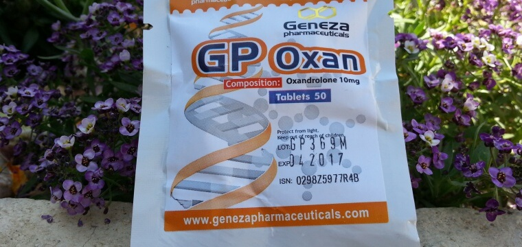 Geneza Pharmaceuticals GP Oxan Lab Test Results