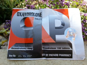 Phenom Oxandrolone Tablets