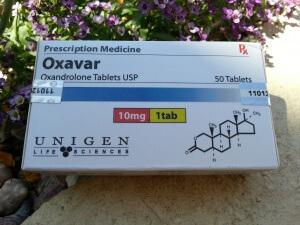 Unigen Oxavar (oxandrolone aka Anavar)