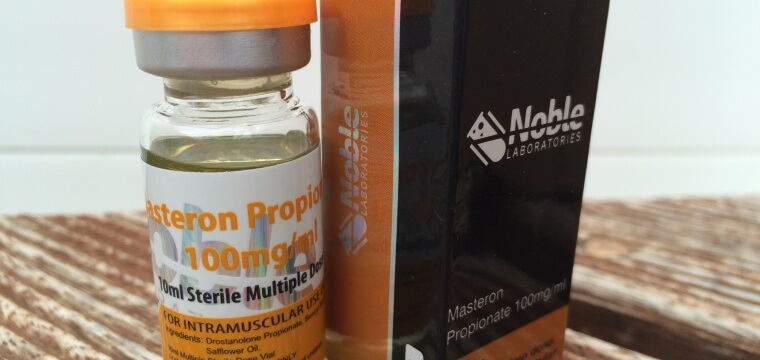 Noble Laboratories Masteron Propionate Lab Test Results