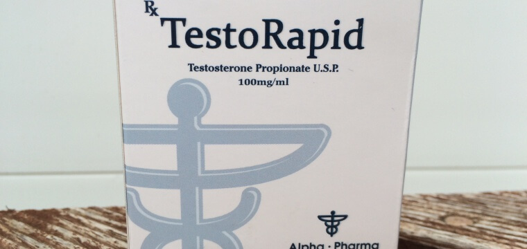 Alpha Pharma TestoRapid Dosage Quantification Lab Results [PDF]