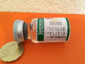 Geneza Pharmaceuticals GP Test Enanth 250