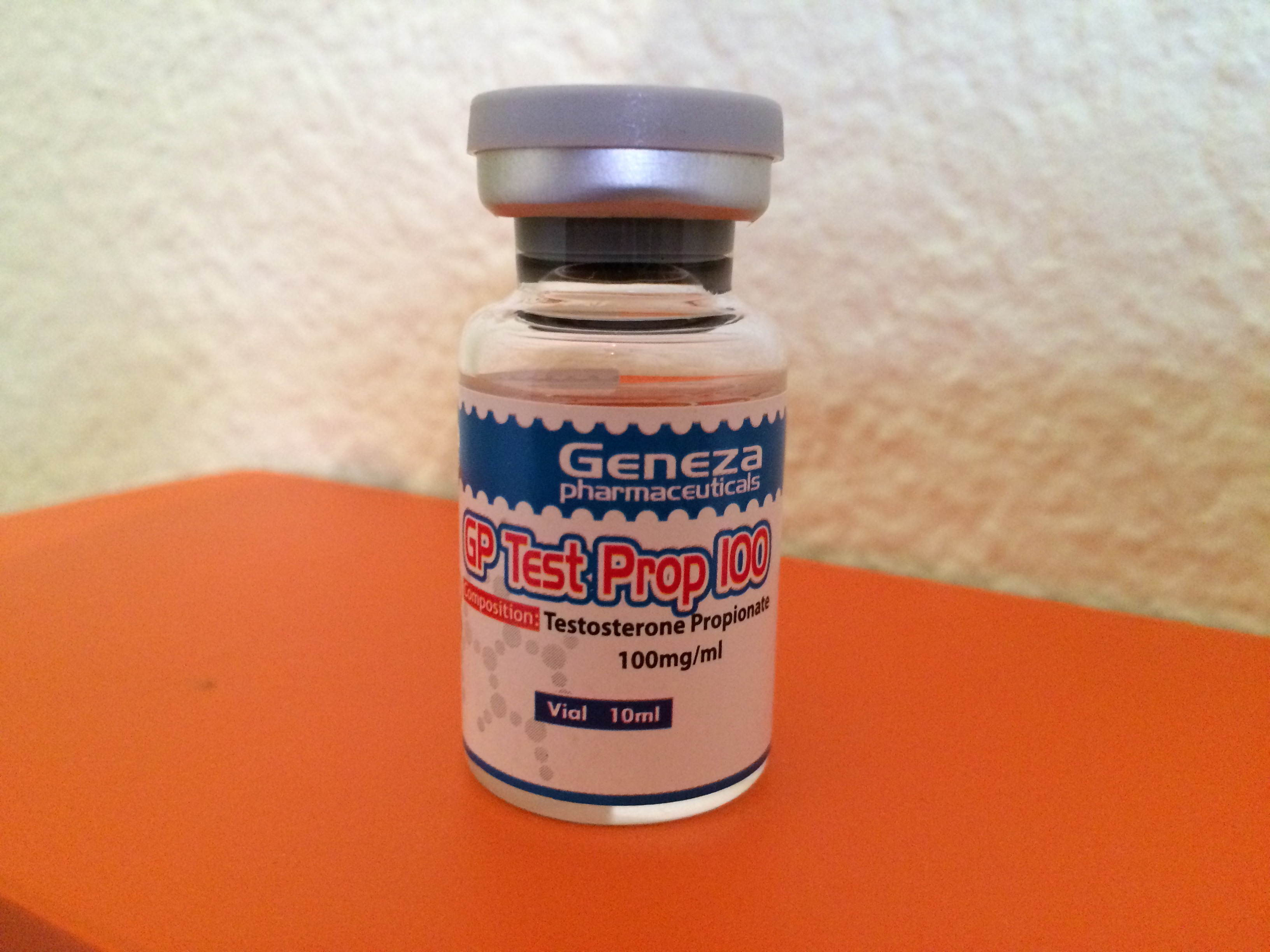 Geneza Pharmaceuticals Gp Test Prop 100 Lab Test Results