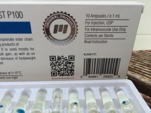 Pharmacom PHARMA Test P100