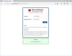 Shree Venkatesh Trebol 100 verified