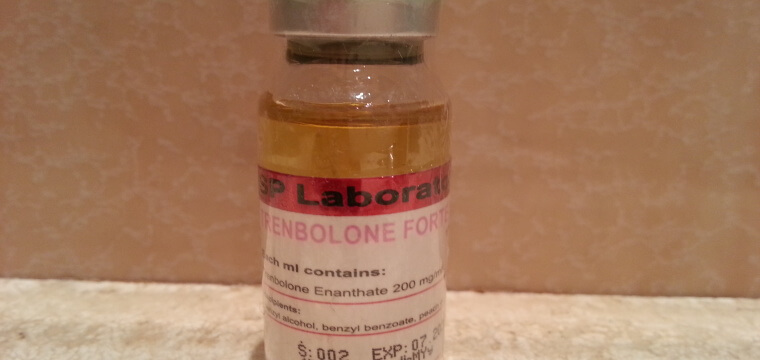 SP Laboratories Trenbolone Forte 200 Lab Test Results