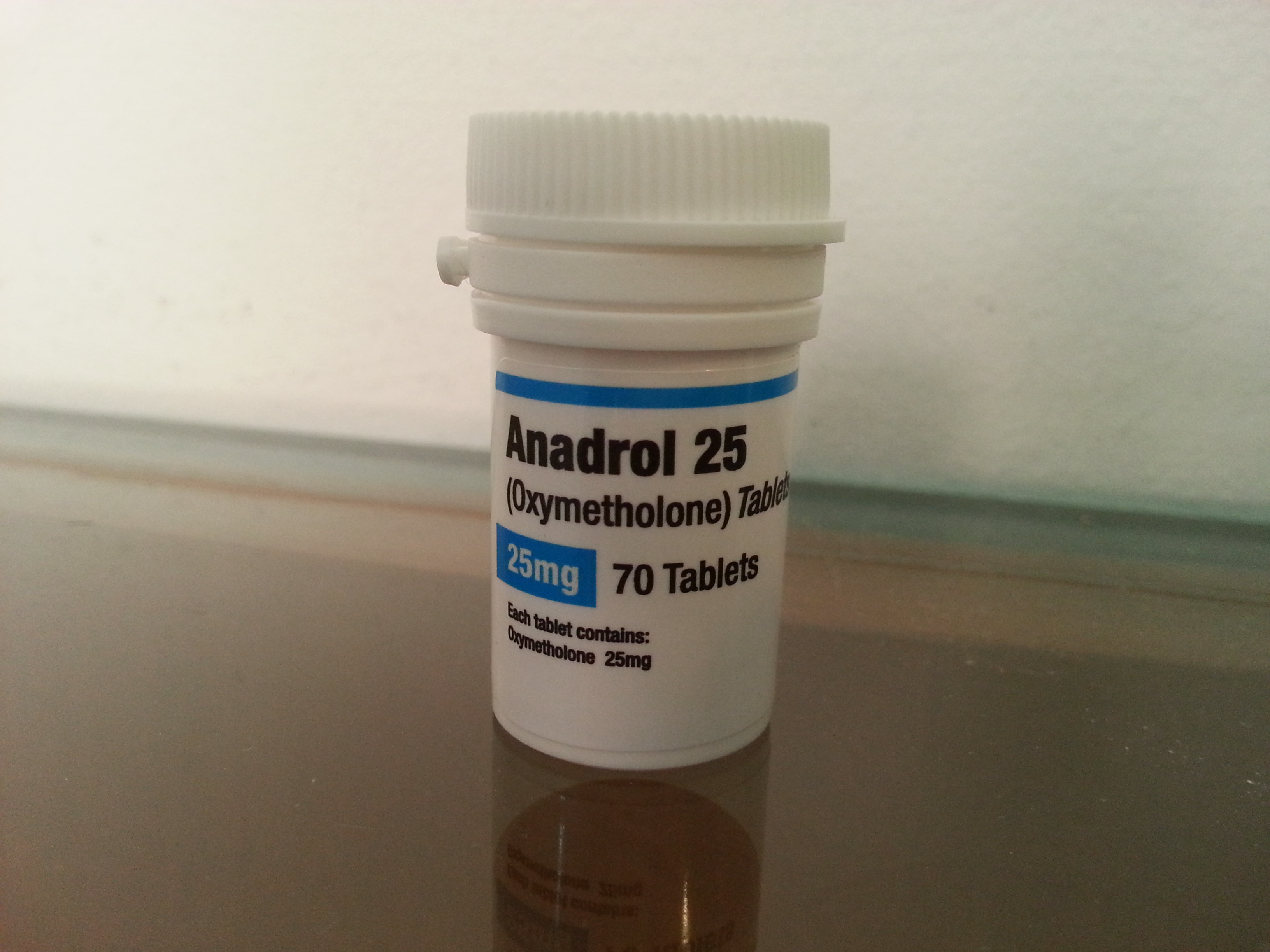 Biomex Labs Anadrol 25 Lab Test Results - Anabolic Lab