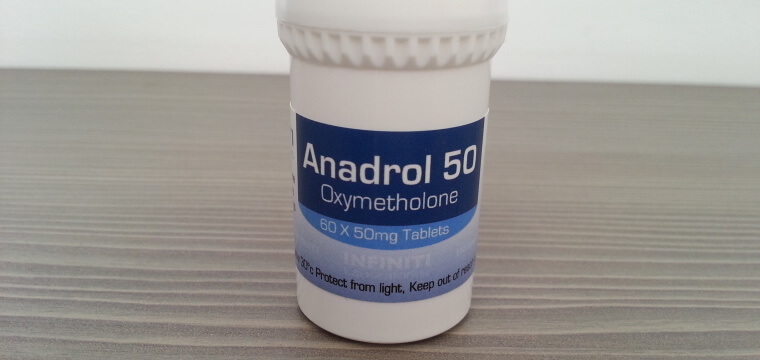 Infiniti Labs Anadrol 50 Lab Test Results