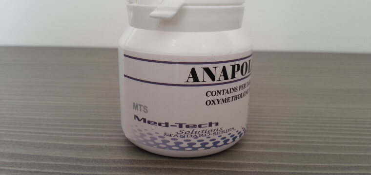 Med-Tech Solutions Anapolon Dosage Quantification Lab Results  [PDF]