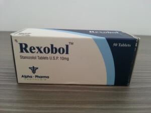 Alpha Pharma Rexobol (stanozolol)