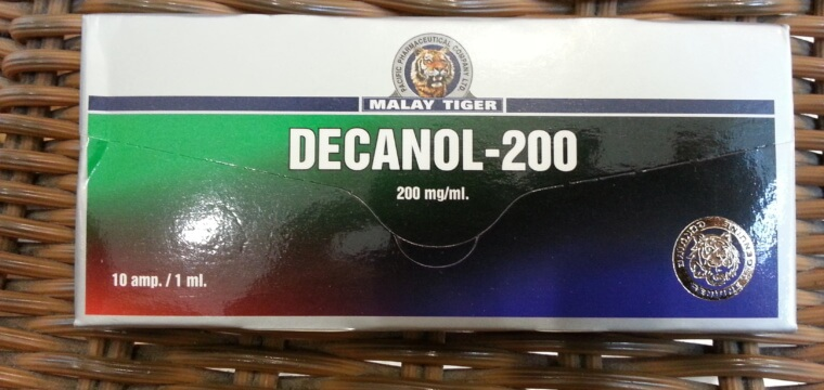 Malay Tiger Decanol-200 Dosage Quantification Lab Results [PDF]