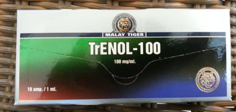 Malay Tiger Trenol-100 Dosage Quantification Lab Results [PDF]