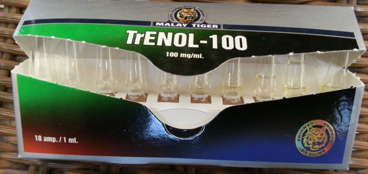 Malay Tiger Trenol-100 Lab Test Results