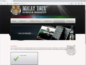 Malay Tiger Trenol-100