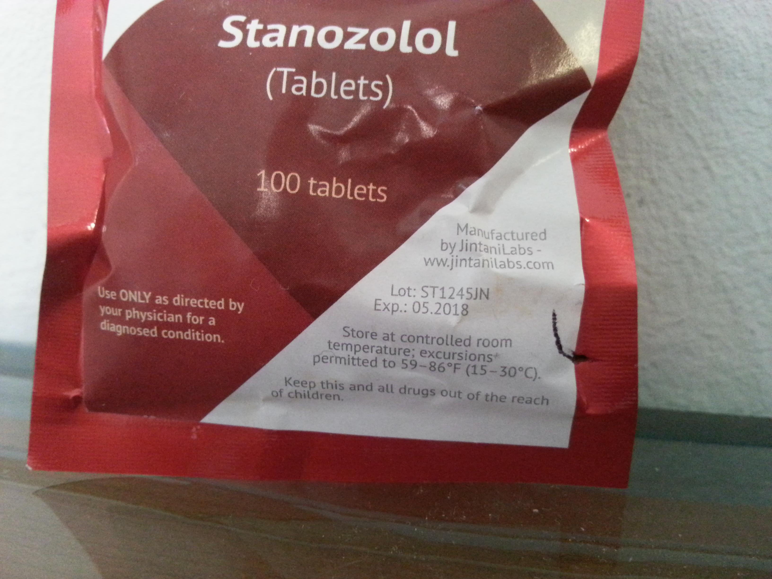 winstrol tablet dosage