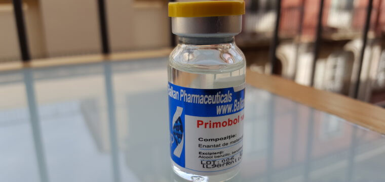 Balkan Pharmaceuticals Primobol 10ml Vial Lab Test Results