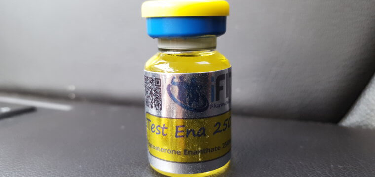 iFit Pharmaceuticals Test Ena 250 Lab Test Results
