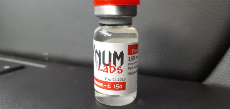 VNUM Labs Primobolanum-E 150 Dosage, Microbiological Lab Results [PDF]