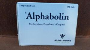 Alpha Pharma Alphabolin (methenolone enanthate)