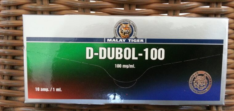 Malay Tiger D-Dubol-100 Dosage Quantification Lab Results [PDF]