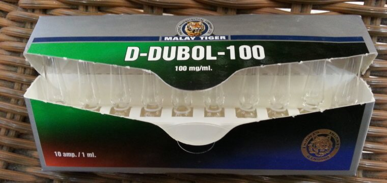 Malay Tiger D-Dubol-100 Lab Test Results