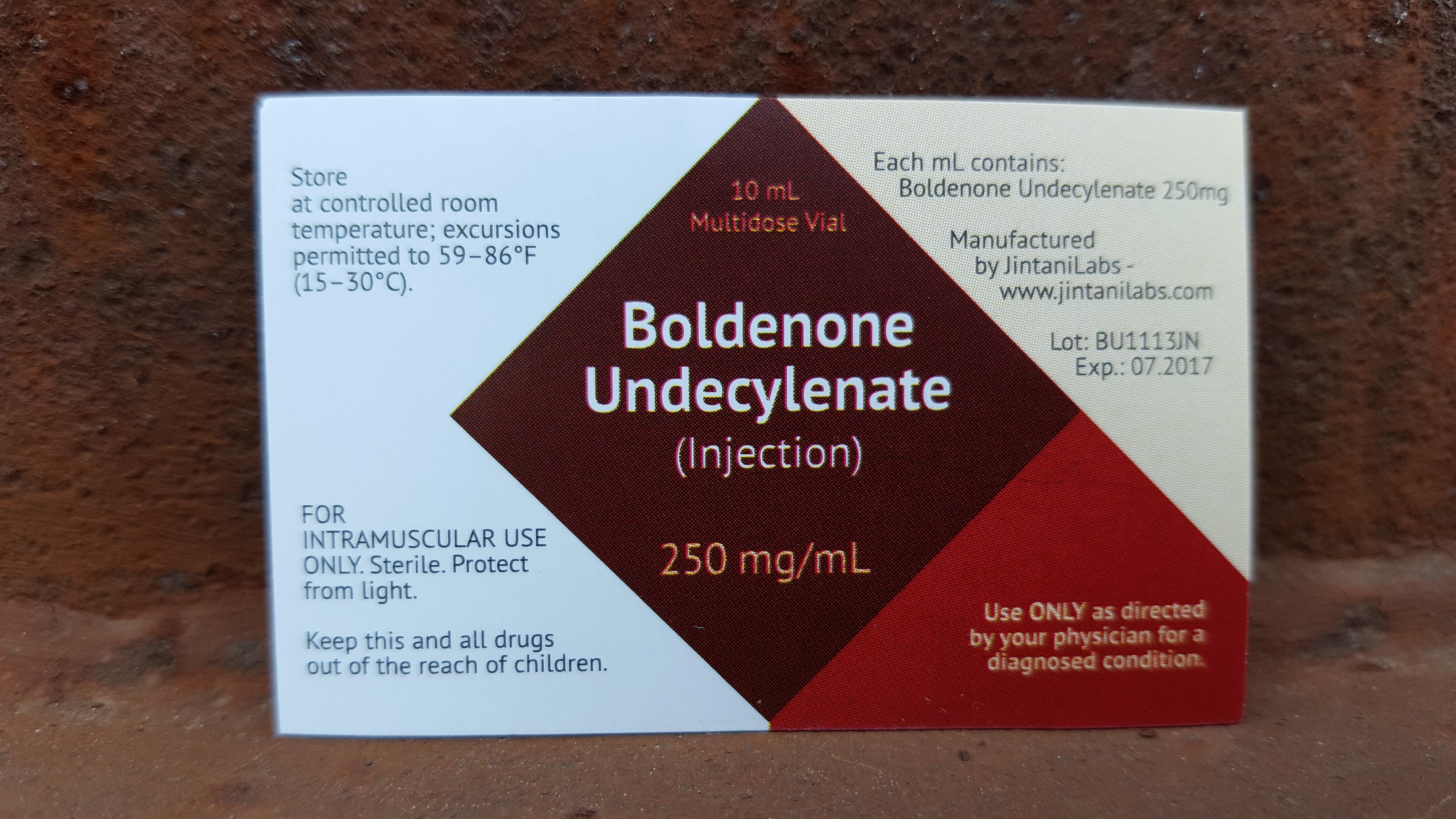 equipoise dosage ml