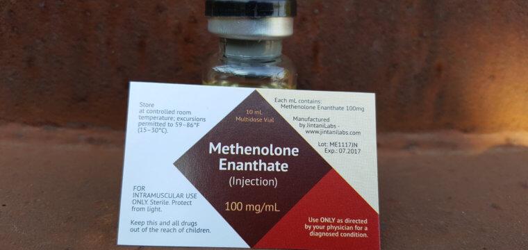 Jintani Labs Methenolone Enanthate Dosage Quantification Lab Results [PDF]