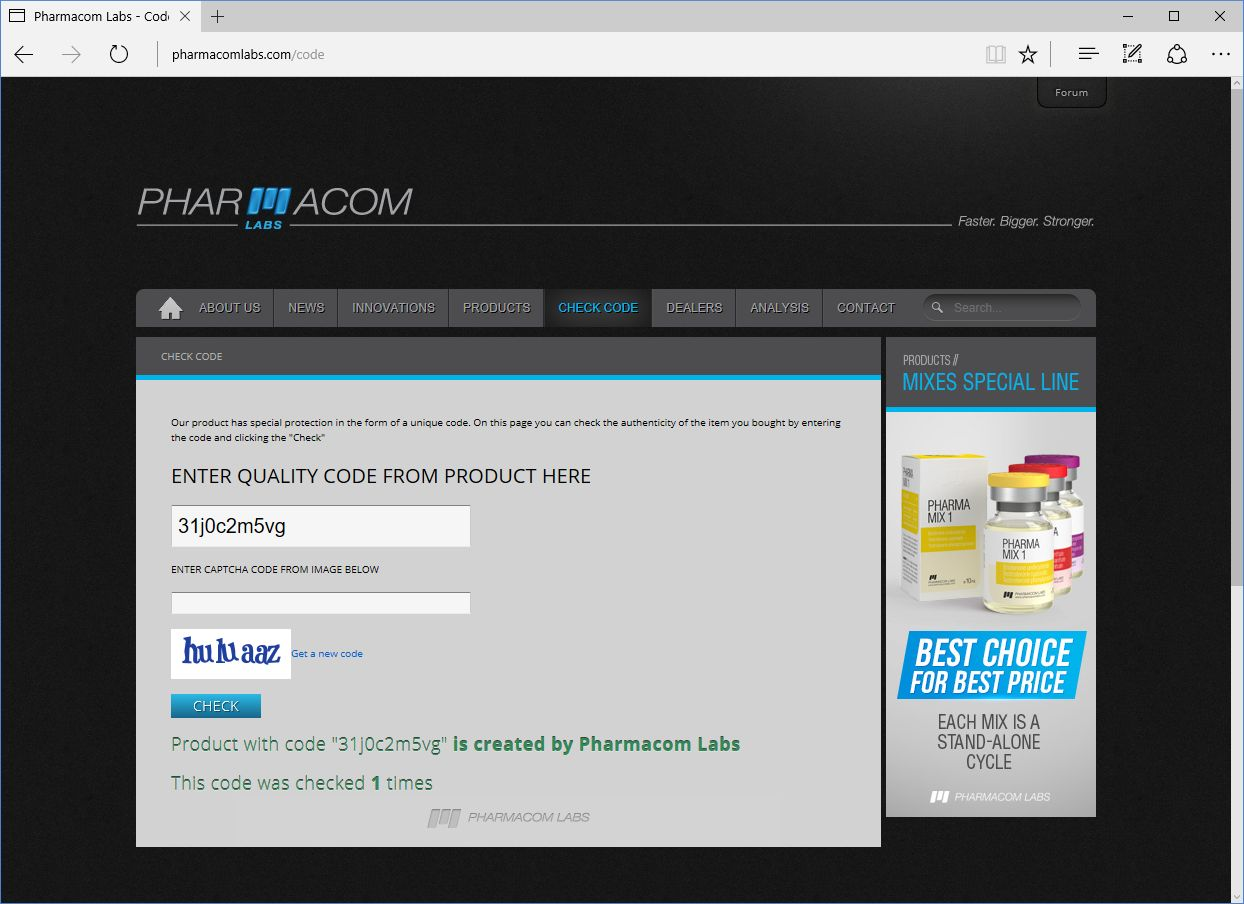 Pharmacom Labs Pharma Nan P100 Lab Test Results Anabolic Lab