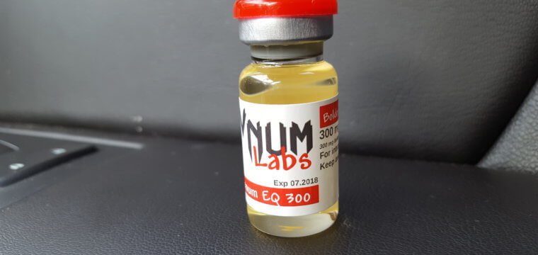 VNUM Labs Boldenum EQ 300 Dosage Quantification Lab Results [PDF]