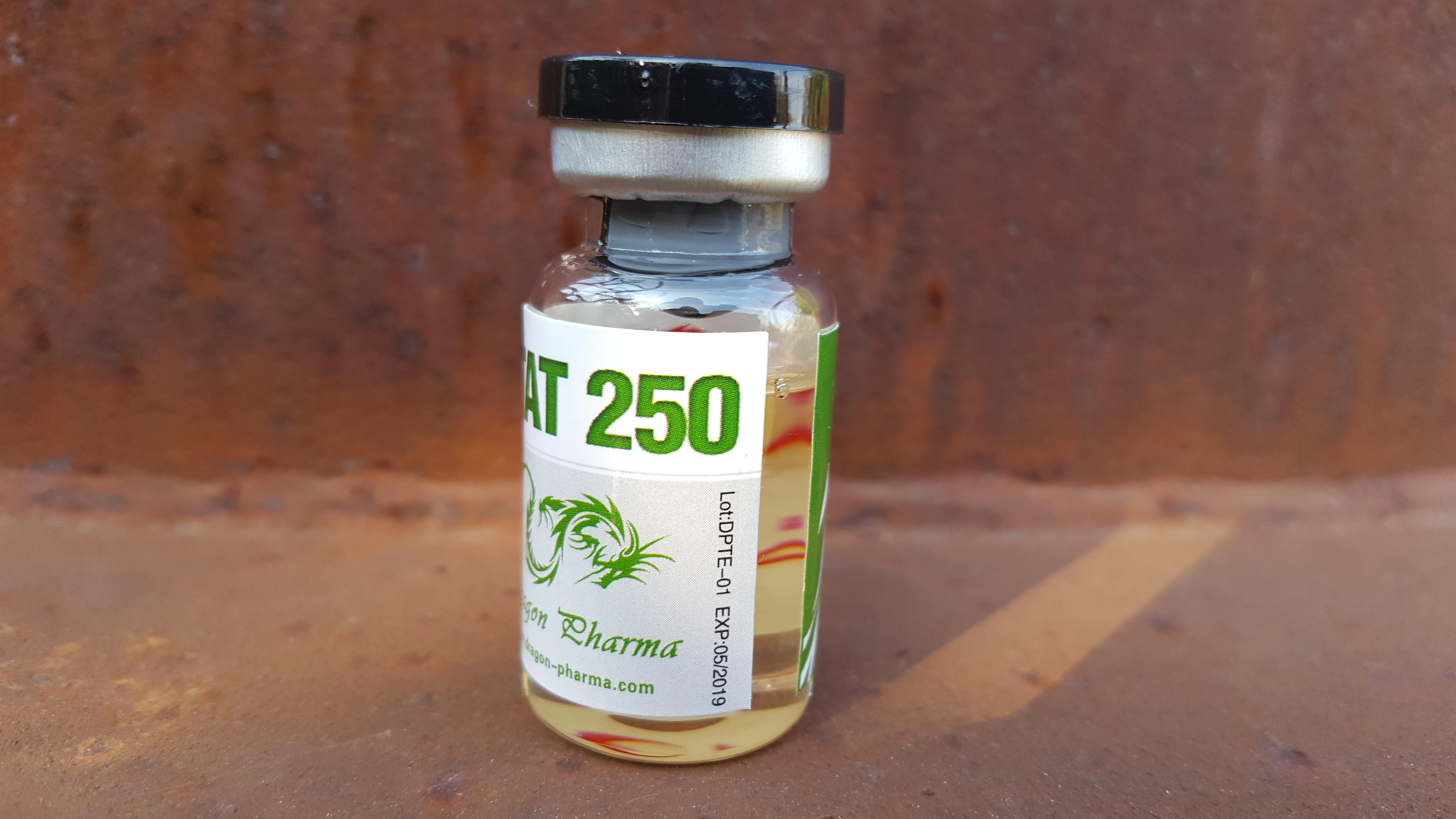 Dragon Pharma Enantat 250 Lab Test Results - Anabolic Lab